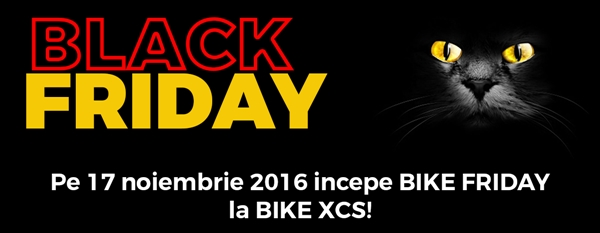 BLACK FRIDAY 2016 la BikeXCS