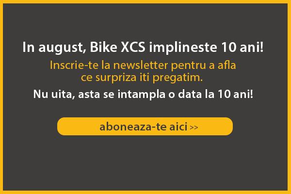 In august, Bike XCS implineste 10 ani! Bucura-te alaturi de noi!
