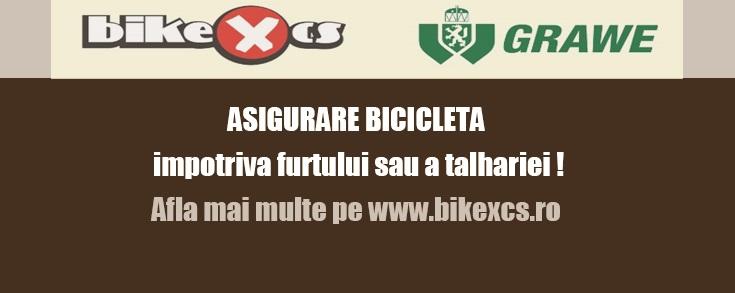 BIKE XCS scrie istorie! Asigurarea bicicletei, o premiera in Romania!