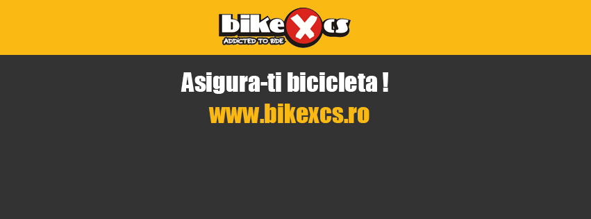 BIKE XCS ITI ASIGURA BICICLETA! O PREMIERA PENTRU ROMANIA!