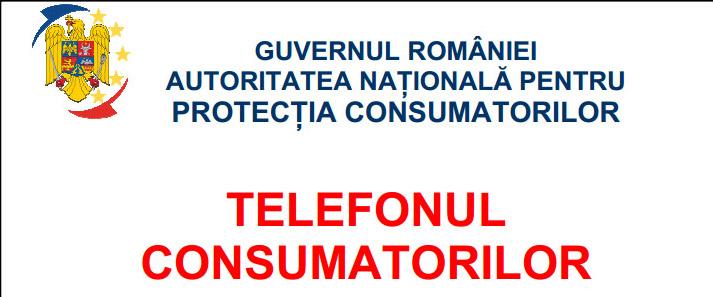 """Firmele trebuie sa afiseze noua placheta cu """"Telefonul Consumatorilor"""""""