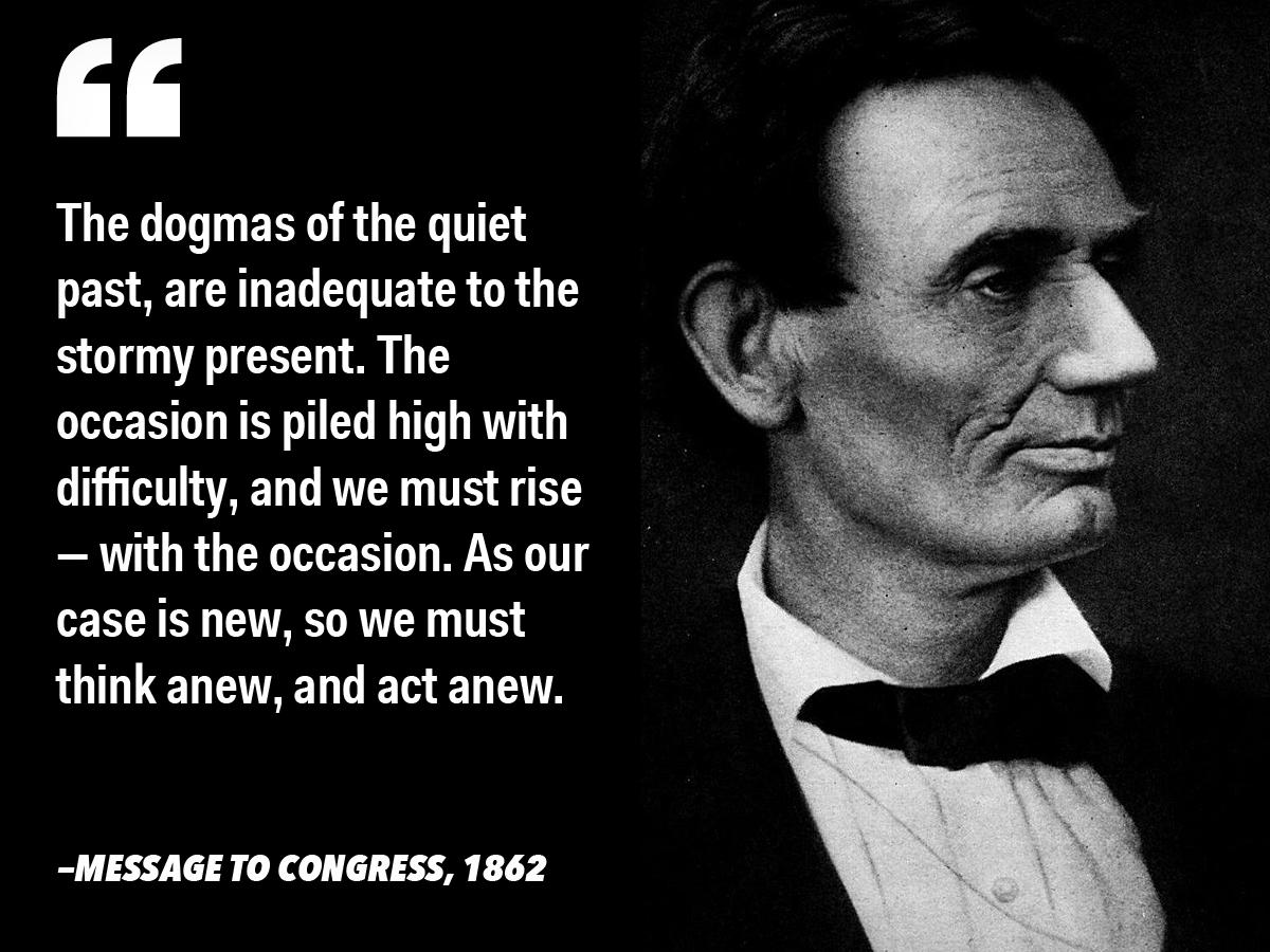 Citate celebre ale presedintelui american Abraham Lincoln