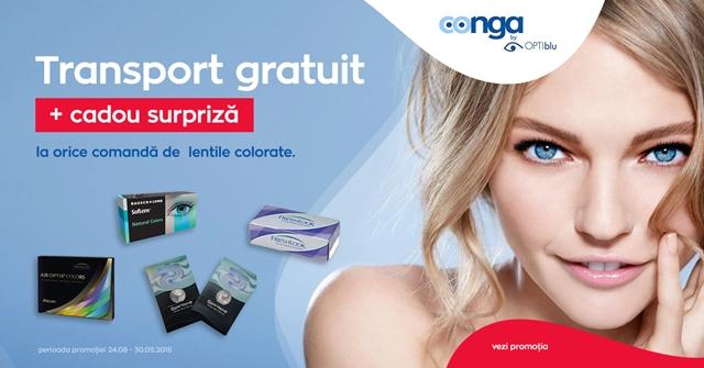 Conga.ro – Promotii la lentilele de contact colorate