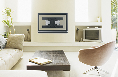 Montarea pe perete a unui televizor cu ecran plat