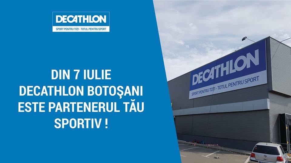 DECATHLON deschide un magazin in Botosani