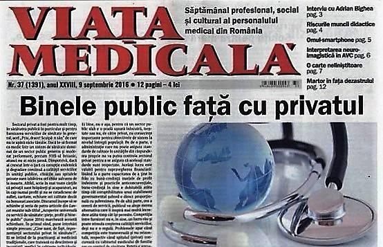 MedicHub cumpara revista Viata Medicala