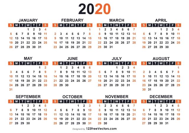 Zilele libere legale in 2020. Sarbatori legale 2020