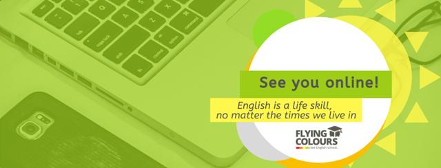 (P) Centrul de limba engleza Flying Colours continua cursurile Online si face cursuri gratuite cu copiii cadrelor medicale aflate la datorie in aceasta perioada