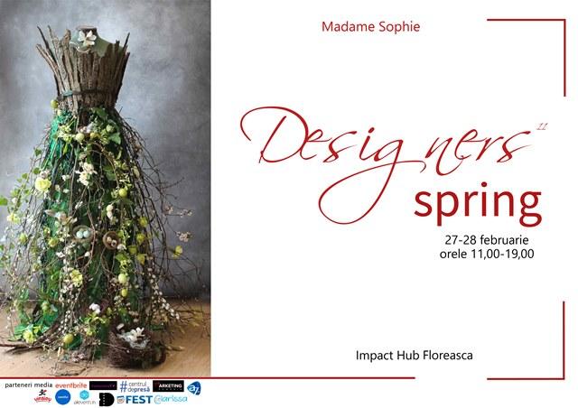 Expozitie Designers Spring: 27-28 februarie 2021, Impact Hub Floreasca