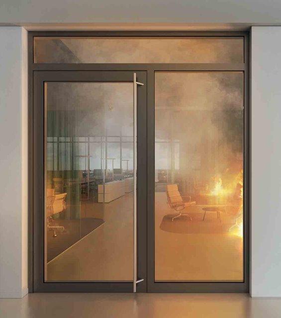 Usi de exterior rezistente la foc si etanse la fum – Protectia la foc se poate face ca la carte si in Romania