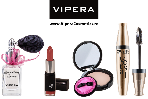 S-a lansat ViperaCosmetics.ro, magazin on-line exclusiv marca VIPERA, cu produse de make-up si de ingrijire